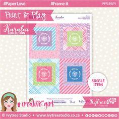 PP/195/FI - Print&Play - Frame-it - Karalea Collection