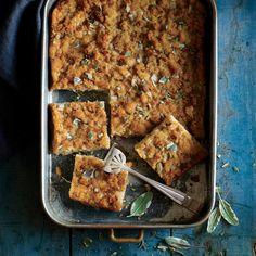 Southern Corn Bread Dressing Squares | MyRecipes