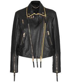 BURBERRY PRORSUM Leather Biker Jacket. #burberryprorsum #cloth #jackets