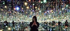 Yayoi Kusama's Infinity Mirror Room in New York City