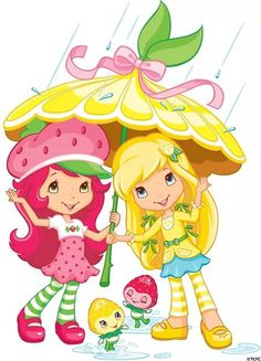 Strawberry Shortcake And Dora The Explorer | by flori.naranja ♡Sofia♡