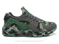 1799fa2c474dd 2015 Nike Air max huarache Homme camouflage Jungle Nike Air Huarache,  Sneakers Fashion, Mens