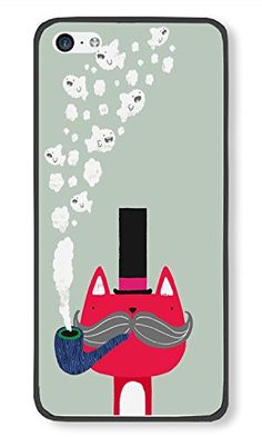iPhone 5C Case Cute Fox With Pipe Phone Case Custom Black Polycarbonate Hard Case for Apple iPhone 5C Phone Case Custom http://www.amazon.com/dp/B014QMQMXG/ref=cm_sw_r_pi_dp_TTzkwb04H8S5Z
