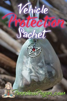 Vehicle Protection Sachet Spell Protection Spell for Your Car A Pagan/ Wiccan Protection Spell For Your Vehicle Witch Bottles, Magick Spells, Jar Spells, Wicca Witchcraft, Green Witchcraft, Healing Spells, Wiccan Crafts, Wiccan Decor, Pagan Witch
