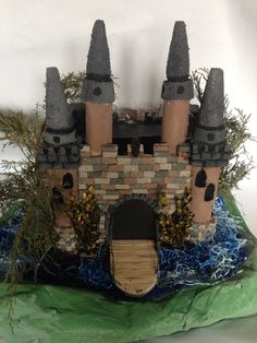 School project of creating a castle.