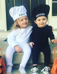 57 Perfect Kids' Halloween Costume Ideas For BFFs Salt and Pepper Costumes Salt and Pepper Costumes ($52)