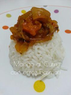 GastroCenicienta: Mango al Curry con arroz Basmati