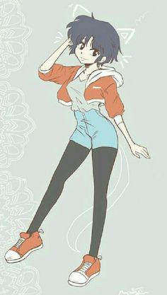 Akane Tendo Niños Anime, All Anime, Anime Art, Anime Girls, I Love Anime, Doujinshi, Inuyasha, Akane Tendo, Otaku