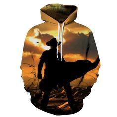 Cute I Love My Horses Long Sleeve Sweatshirts Hoody Womens Cat Ear Crop Top Pullover Hoodie S-XXL