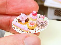 Pink Pastries Selection