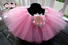 Girls Ballet Pink Ballerina Tutu by PeppersPinkChair on Etsy