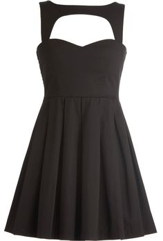 Hollowed Heart Dress