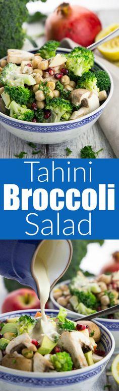 Veggie salad with br