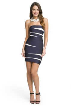 Sailor Bandage Dress
