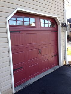 Our New Garage Doors
