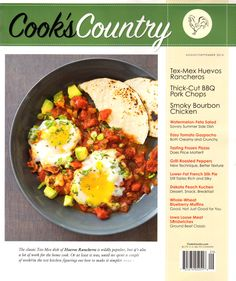 Cook's Country Cover for 8/1/2014
