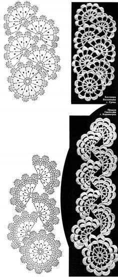 tape lace crochet