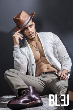 "Sexy Black Boys on Twitter: ""Trai Byers for Bleu Magazine"