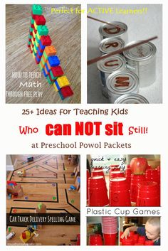 25+ Ideas for Teaching Kids Who Can't Sit Still!