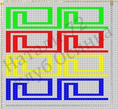 Dense knitting and woven handles are a Crochet Chart, Filet Crochet, Crochet Motif, Mochila Crochet, Plastic Canvas Stitches, Tapestry Crochet Patterns, Cross Stitch Boards, Crochet Purses, Bargello