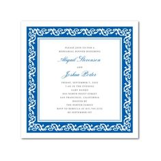 luv names in color, nice border #wedding