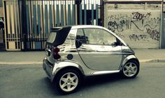 chrome smart car, www.autoskin.com.au/gallery