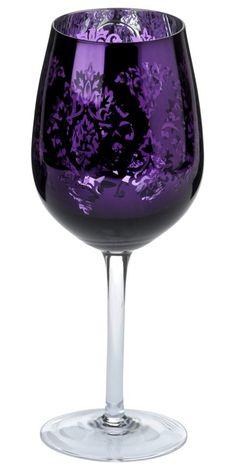 Purple love this Purple Stuff, Purple Love, All Things Purple, Purple Glass, Shades Of Purple, Deep Purple, Color Lila, Purple Kitchen, Glas Art