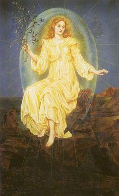Lux in Tenebris by Evelyn Pickering De Morgan