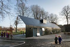 Copenhagen's Mirrored Playground Project - My Modern Metropolis