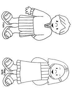 desenho noé y esposa - Pesquisa Google