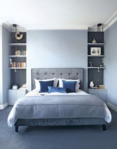 Moody Interior: Breathtaking Bedrooms in Shades of Blue