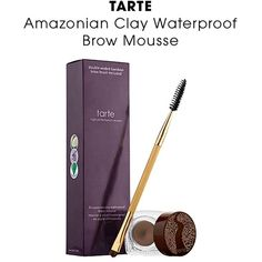 Tarte Amazonian clay waterproof brow mousse Brand new!! Never been used and comes with brush. I am obsessed with this stuff ! So much that I stocked up, but no longer can wear this shade (I'm now blonde and would need taupe shade) read the reviews on Sephora... Hands down best brow product ever. Shade I'm selling is medium brown (would be best for medium to dark brown hair) a little goes a long way... This stuff lasts a long time ! Sephora Makeup Eyebrow Filler