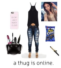 """""""Chill bill"""" by ddb1220 ❤ liked on Polyvore featuring Clinique, NARS Cosmetics, Givenchy, Conair and Casetify"""