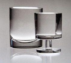TIMO SARPANEVA - Glassware 'Triennale' designed in 1956 for Iittala, Finland. [35 cl, 20 cl]
