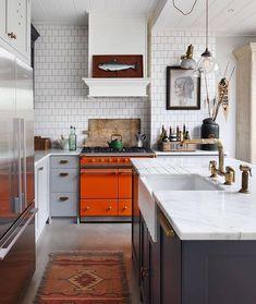 "Livingetc magazine's Instagram photo: ""The modern/industrial/shaker/rustic kitchen of @haminteriors, shot by @alexanderjamesphoto  #livingetc #kitchendesign #kitchendecor…"""