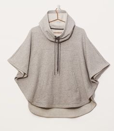 Thumbnail Image of Primary Image of Lou & Grey Hoodie Cape Cape Jacket, Hoodie Jacket, Cape Coat, Warm Outfits, Cute Outfits, Capes For Women, Urban Dresses, Grey Hoodie, Shrug Sweater