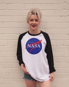Vintage Style NASA Jersey/T-Shirt by FiftyEggs on Etsy