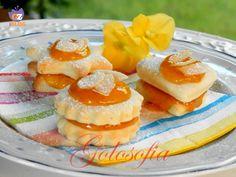 Biscotti allo yogurt con marmellata di albicocche, ricetta golosa