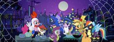My Little Pony Friendship is Magic Photo: Nightmare Night Nightmare Night, Princess Luna, Night Photos, My Little Pony Friendship, Scene, Magic, Halloween, Anime, Mlp