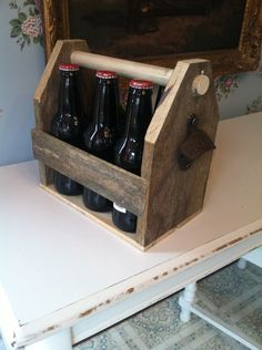 Six pack bottle tote
