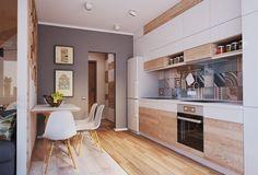 Tiny apartment, huge style // hermoso departamento en 40 m2 // casahaus