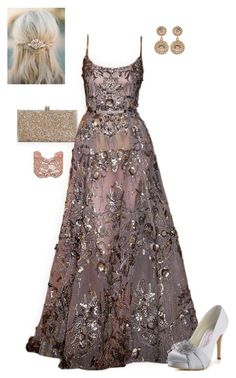 Elie Saab Couture #5 #ElieSaab #Couture #Designer #Gown #Sheer #Tulle #Embellished #Sparkle #Metallic #Bronze #Pink