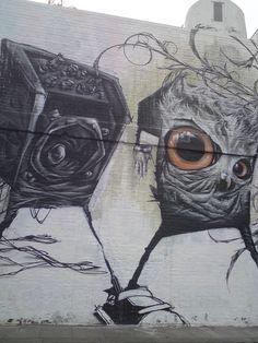 Village Underground - Converse - London Street Art | por londonstreetart2