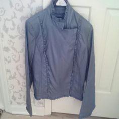 Grey leather jacket Grey leather jacket Revue Jackets & Coats