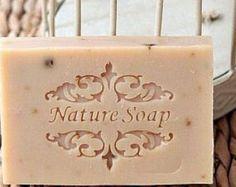 Timbre de savon naturel par kudosrichard sur Etsy