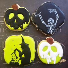 """85 Likes, 10 Comments - Local Tart Bakery Wichita, KS (@localtartbakery) on Instagram: """"More halloween cookies! I've still got a few slots open for halloween orders, so if you're…"""""""