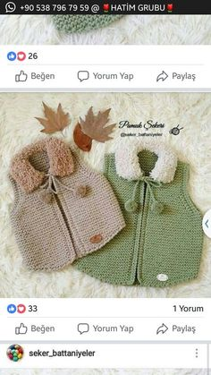 knitting and crochet for childre patterns Baby Knitting Patterns, Knitting For Kids, Crochet For Kids, Crochet Baby, Knit Crochet, Baby Pullover, Baby Cardigan, Knitted Blankets, Knitted Hats