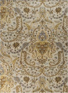 Surya Ancient Treasures A-165 Taupe