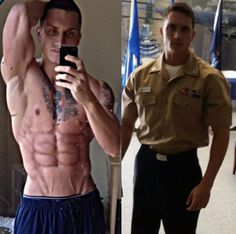 #SupportMilitaryMuscle ..... @jbfitness01 US NAVY #shredded #rippedtoshredz    Support MilitAry Muscle now and check out our apparel @ Www.militarymuscleinc.com #bloodsweattears #1stphorm #legionofboom