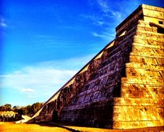 The amazing Descent of the Feathered Serpent on the spring Equinox at Chichen Itza, Mexico